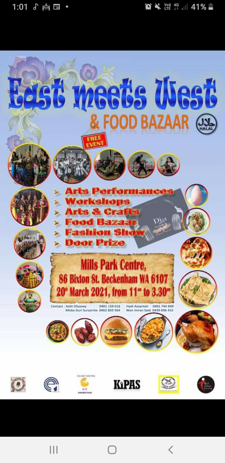 East Meets West (Multicultural Event ) 20 March 2021 at Mills Park Hall Community