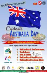 Upcoming Celebrate Australia Day 26 January 2021 at Mills Park 2 (Sponsor by Auspire and Australia Day Council)